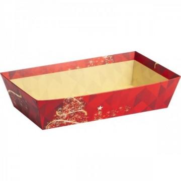 CORBEILLE NOEL SAPIN DORÉ (boîte XL) au meilleur prix
