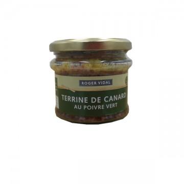 TERRINE CANARD AU POIVRE VERT 180G au meilleur prix
