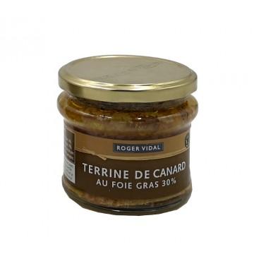 TERRINE CANARD AU FOIE GRAS 180G